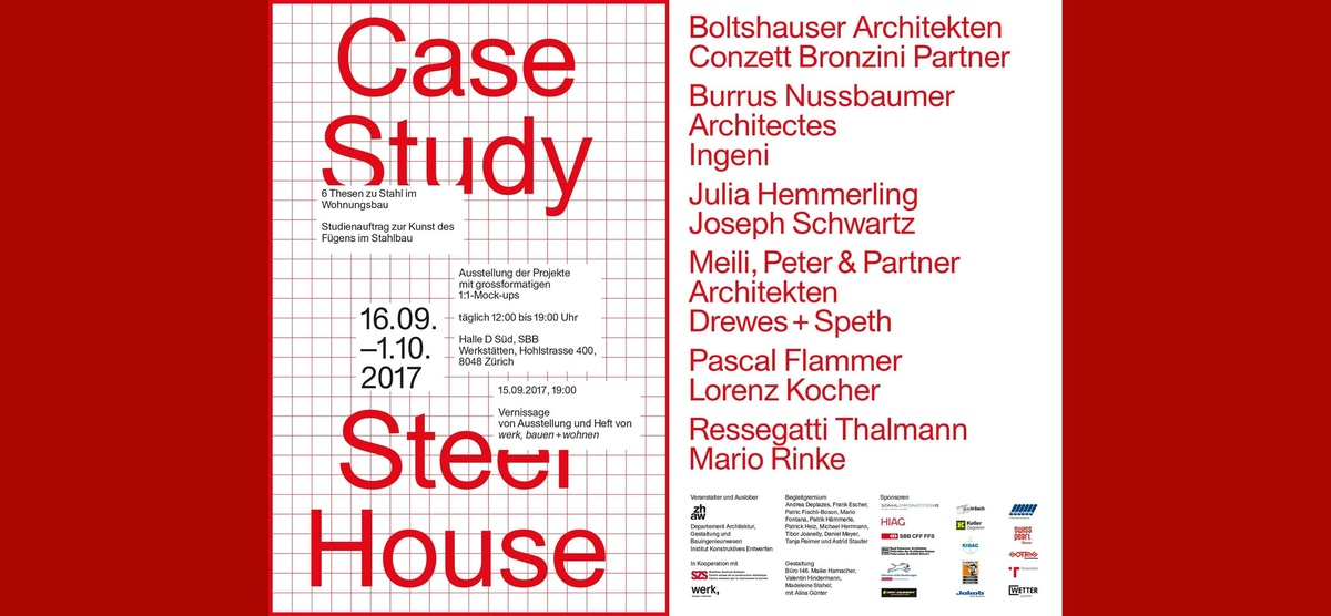 Vernissage Case Study Steel House