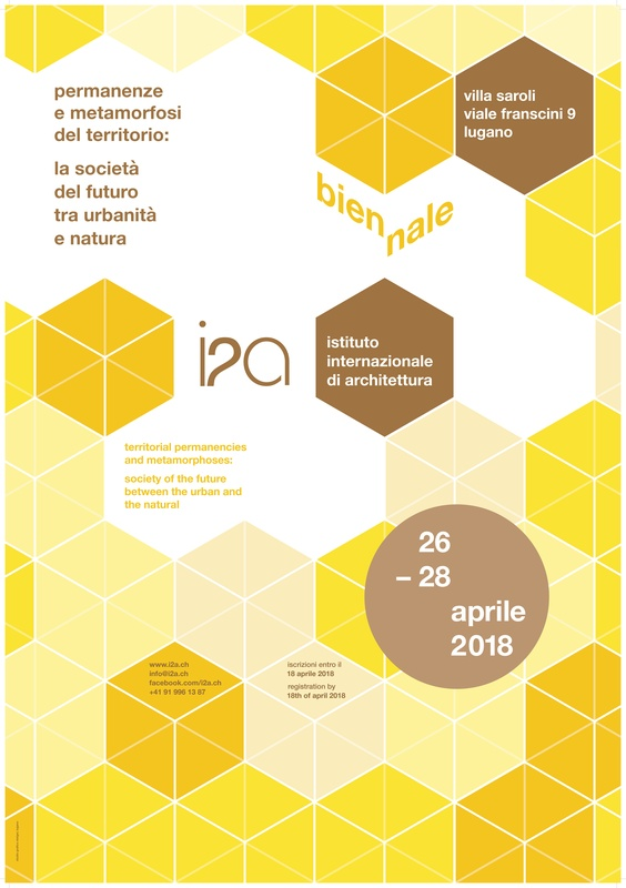 Save the date: Biennale i2a 26.–28. April